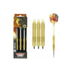 Darts Bear Brass met Steeltip 19 gram