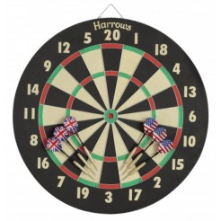 Harrows Darts Dartbord Zwart