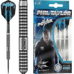 Phil Taylor Power 8ZERO 80% Tungsten Steel Tip Dartpijlen 26 gram