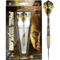 Target Phil Taylor Power 9FIVE generatie 3 95% dartpijlen 26 gram