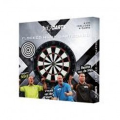 XQ Max Flocked Trio Dartbord