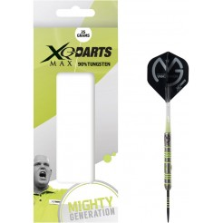 XQ Max Michael van Gerwen 'Mighty Generation' Dartpijlen 25 gram 90% Tungsten
