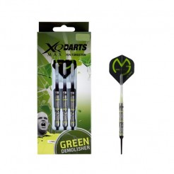 XQ Max Michael van Gerwen 'green demolisher' Dartpijlen 18 gram 90% Tungsten